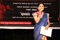 "05.09.15-Sumadura sanje- Geeta Nataka ""Bhima Vijaya & National awardee teachers felicitation"